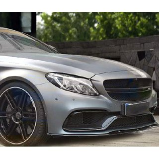 MERCEDES Benz W205 C63 AMG Frontlippe 3-teilig, Carbon