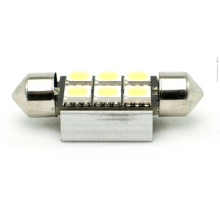 LED Soffitten 36 mm, weiss, 6 LEDs, Canbus