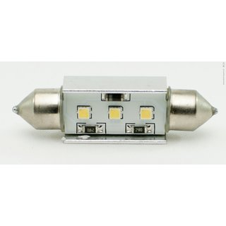 LED Soffitten 41 mm, weiss, 3 LEDs, Samsung Chips, Canbus