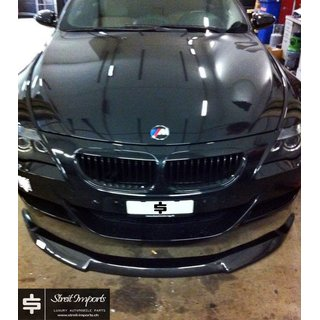 BMW M6 Frontspoiler Lippe, Carbon