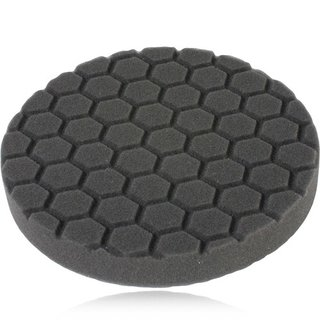 Smartwax Hex Logic 6.5 Inch (16 cm) Finishing Pad, schwarz