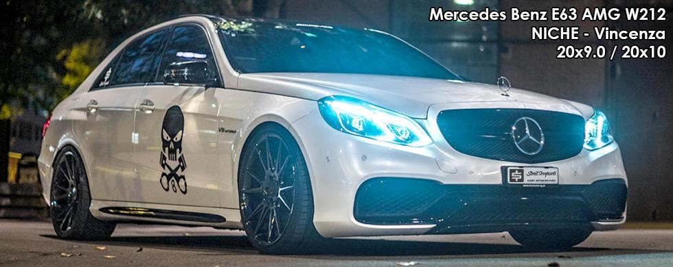 Mercedes Benz E63 AMG W212