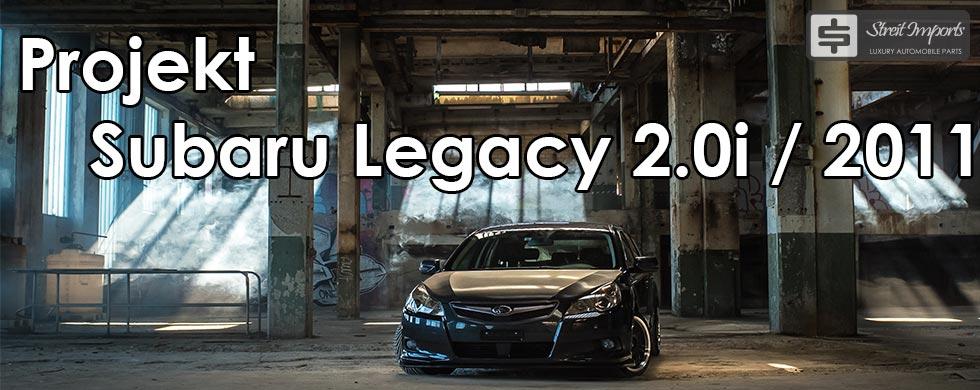 Projekt Subaru Legacy 2011